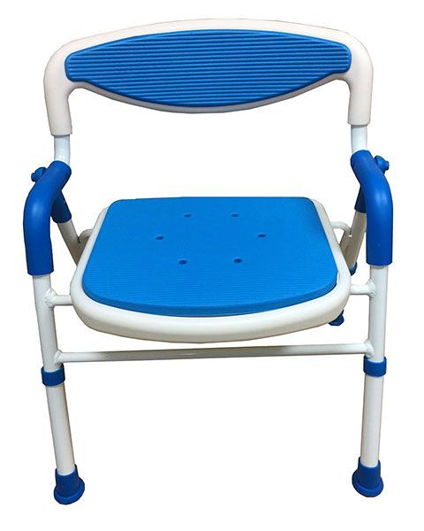 康復 可收軟背扶手洗澡椅CA003 *維康
