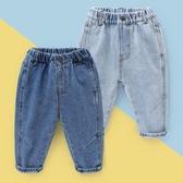 牛仔褲男童寬松牛仔褲春裝春秋童裝1歲小童3兒童寶寶長褲子潮春款U11924 新品