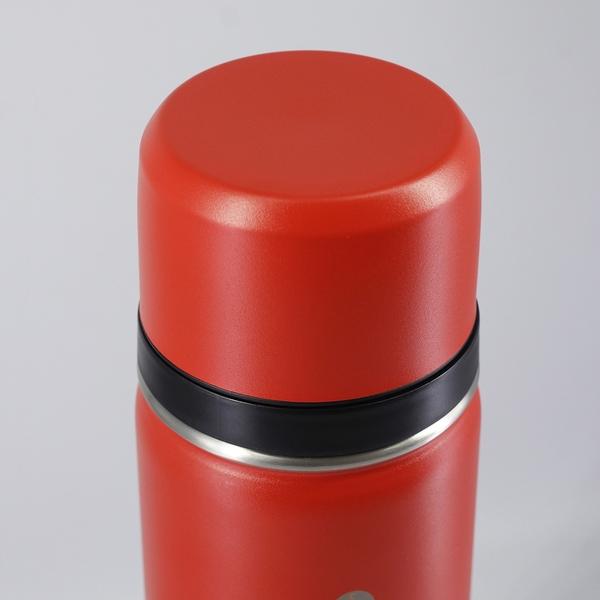 【週年慶開跑全館8折起】SANTECO-KOLIMA 保溫瓶 1000ml 橙果紅-生活工場
