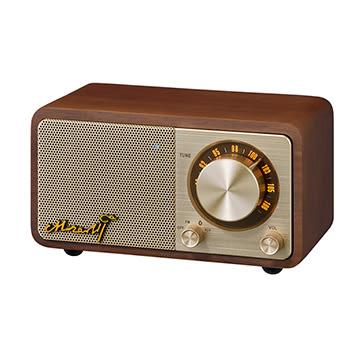 山進 MOZART 莫札特 Sangean 胡桃木 原木藍芽音箱 藍芽4.1快速配對 具備FM收音機