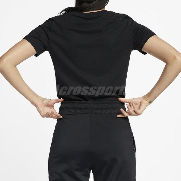 Nike 短袖T恤 NSW Essential T-Shirt 黑 白 女款 短T 運動休閒 【ACS】 BV6170-010