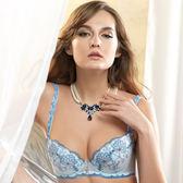 LADY 傾戀巴比倫系列 B-F罩內衣(寧靜藍)