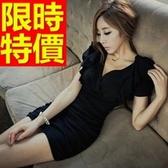 洋裝-夜店撫媚有型韓版連身裙55h12【巴黎精品】