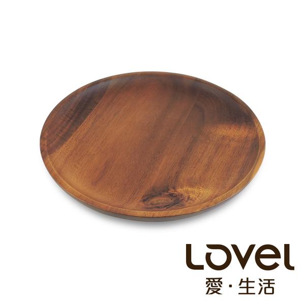 LOVEL 洋槐木點心盤21cm