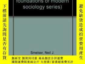 二手書博民逛書店The罕見Sociology Of Economic Life (prentice-hall Foundation