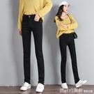 棉麻褲 黑色牛仔褲女2020春秋季新款高腰顯瘦百搭寬鬆大碼彈力修身直筒褲 開春特惠