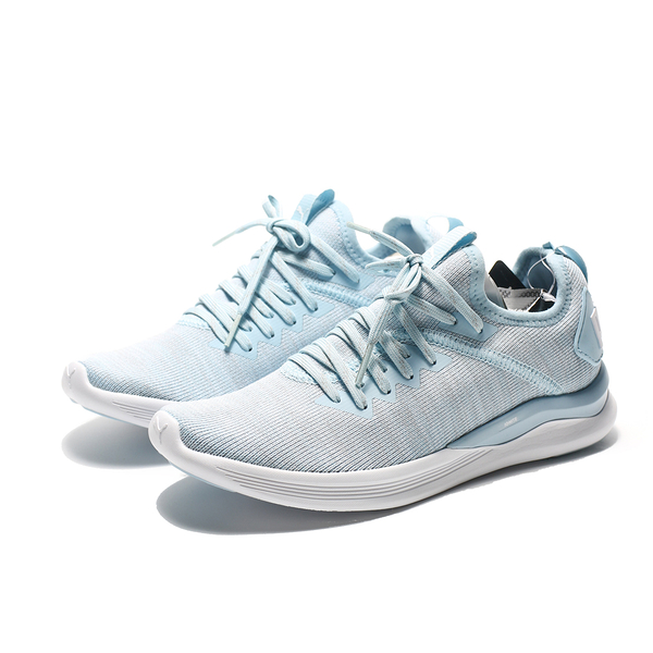 PUMA IGNITE Flash evoKNIT 女 水藍色 休閒鞋 女 (布魯克林) 19051109