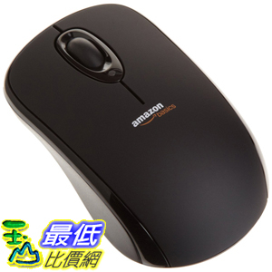 [106美國直購] AmazonBasics Wireless Mouse with Nano Receiver (MGR0975)