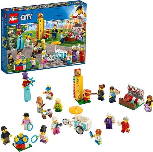 LEGO 樂高 City People Pack – Fun Fair 60234 (183件)