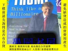 二手書博民逛書店罕見二手! TRUMP Think Like a Billion