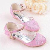 兒童公主鞋女孩舞臺走秀主持人表演出高跟鞋