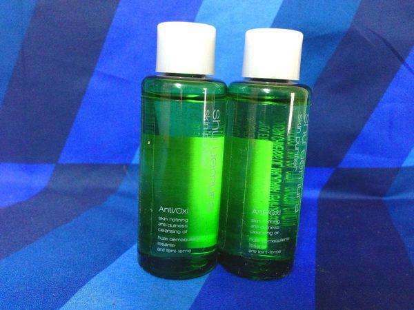 SHU UEMURA 植村秀植物精萃潔顏油50ML極濃綠茶版 百貨公司專櫃貨