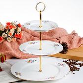 【Royal Duke】羅馬假期骨瓷三層蛋糕盤(典雅英式下午茶風格)