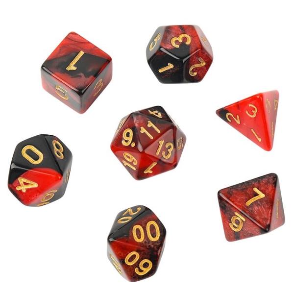 多面骰子數字跑團桌游