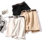 韓版高腰闊腿短褲女寬松 五分熱褲時尚休閒褲