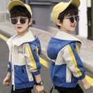 男童秋裝外套洋氣夾克2020新款男孩兒童上衣小孩韓版潮春秋款童裝 設計師生活百貨
