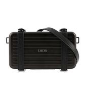 【DIOR】DIOR X RIMOWA聯名行李箱手拿/斜背包(黑色) 2DRCA295YWT_H03E