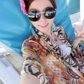 罩衫 泳衣罩衫 韓國游泳衣 海邊泳裝比基尼沙灘披紗 時尚沙灘巾快速出貨