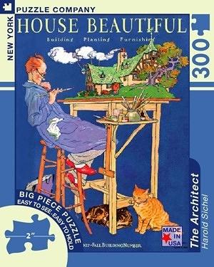 【KANGA GAMES】拼圖 美麗的房屋 - 建築師 House Beautiful - The Architect  300片