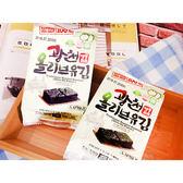 韓國 SAMWON 橄欖油海苔(4gx3包入)【小三美日】團購 / 零嘴