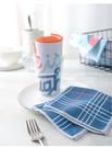 【廚房抹布四條裝】北歐風高顏值不沾油毛巾 吸水洗碗抹布