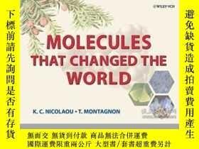 二手書博民逛書店Molecules罕見That Changed The Worl