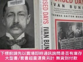 二手書博民逛書店Cursed罕見Days: Diary of a Revolution (by Ivan Bunin) 布脊精裝本