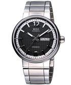 MIDO 美度 Great Wall 長城系列機械手錶-灰黑 M0156311106700