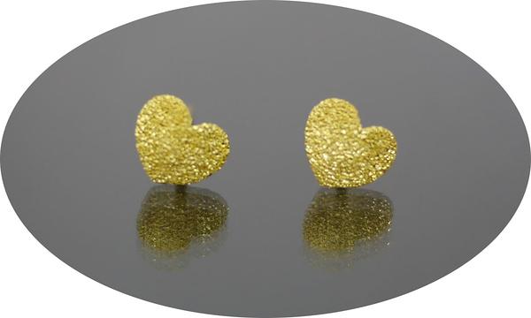 gold 黃金 耳環 金飾 保證卡 重量0.30錢 [ ge 041 ]