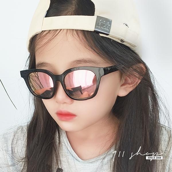 Ardor.軟Q粗框橢圓方框水銀兒童戶外寶寶矽膠UV400偏光太陽眼鏡【f5073】911 SHOP