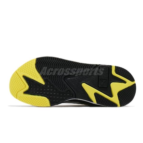 Puma 休閒鞋 RS-X3 X Emoji 黑 黃 男鞋 聯名 表情符號 老爹鞋 復古慢跑鞋 【ACS】 37481901