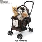 【PET PARADISE 寵物精品】SNOOPY史奴比 最新超輕量!按鍵式收納推車【小】(~12kg) 寵物推車