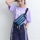 腰包女2019新款潮男士時尚多功能包實用大容量耐磨個性防水時髦 LJ5250【極致男人】
