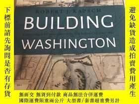 二手書博民逛書店building罕見washington建設華盛頓 原版精裝小8開Y25607