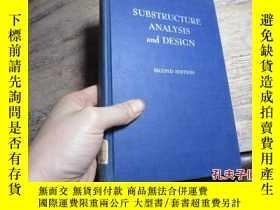二手書博民逛書店substructure罕見analysis and desig