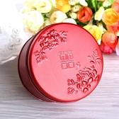 全館83折 中國風鐵盒結婚禮盒喜糖盒馬口鐵的創意糖盒婚慶的盒子