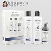 立坽『頭皮調理洗髮精』卓冠公司貨 NIOXIN 耐奧森 6號豐髮體驗組(洗+護+護理液) IS05