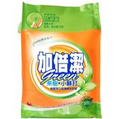 加倍潔 茶樹+小蘇打制菌潔白 超濃縮洗衣粉 補充包 2kg/袋