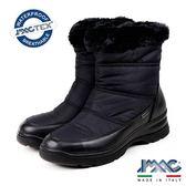 【IMAC】義大利進口毛飾防水透氣女靴/短靴  黑色(207988-BL)