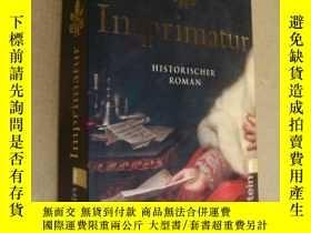 二手書博民逛書店Imprimatur罕見(HISTORISCHER ROMAN)Y164736 Monaldi & S