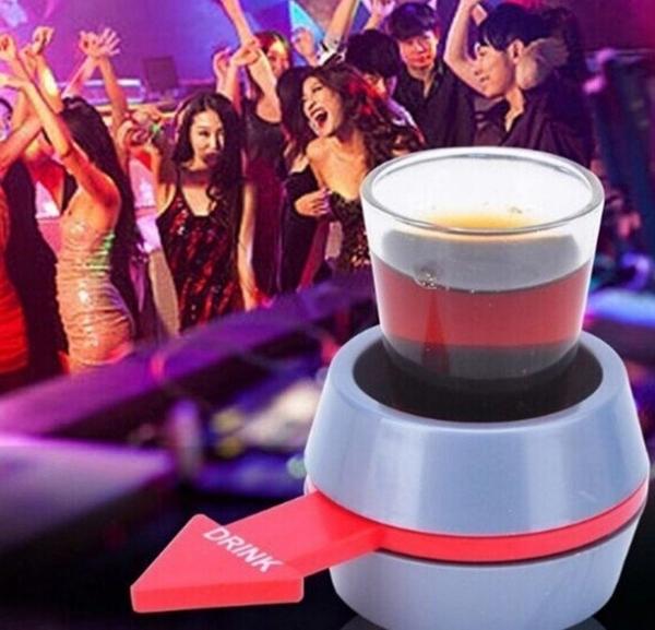 大號旋轉Spin The Shot 喝酒轉盤玩具 酒吧喝酒助興玩具娛樂用品  KTV派對PARTY必備