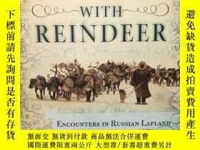 二手書博民逛書店Running罕見with Reindeer:Encounter