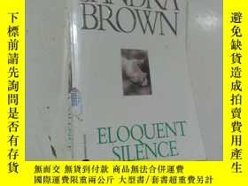二手書博民逛書店原版英文外文罕見Eloquent Silence Sandra