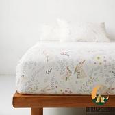 純棉卡通可定制兒童床罩夏天雙層紗單床包床罩【創世紀生活館】