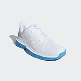 ADIDAS 19FW 進階款  男網球鞋 COURTJAM BOUNCE系列  CG6329 贈護腕【樂買網】