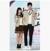 韓劇《無理的前進-學校2015》同款校服秋冬男女學生班服制服套裝