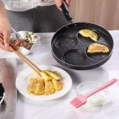 煎蛋鍋不粘平底鍋家用迷你煎雞蛋荷包蛋漢堡蛋餃鍋 米蘭潮鞋館