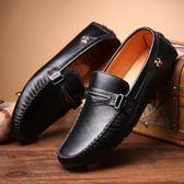 套腳豆豆鞋 韓版低幫鞋 一腳蹬懶人鞋【非凡上品】nx2342