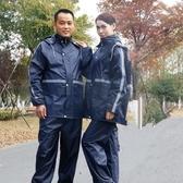 雨衣成人騎行套裝雙層加厚防風男女分體電動車防暴雨雨衣徒步雨披~榮耀尊享~