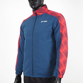 Yonex [19021TR169] 男 外套 運動 休閒 訓練 立領 吸濕 排汗 速乾 透氣 輕量 防靜電 藍紅